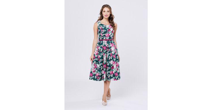 Review Australia - Devine Floral Dress Pine/multi