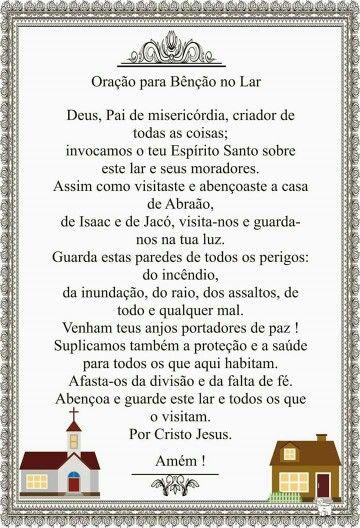 Oração para a família
