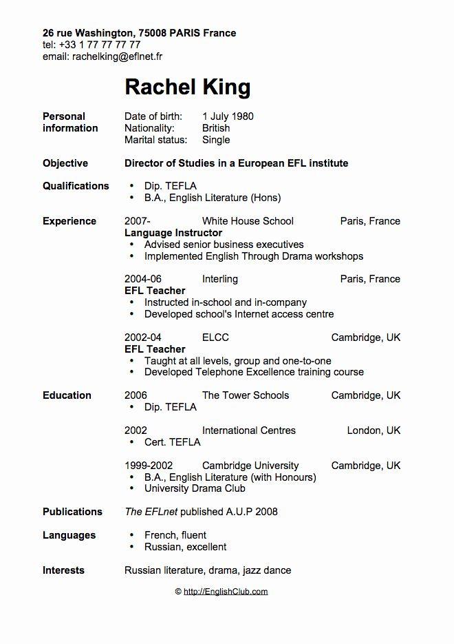 20 Esl Teacher Job Description Resume In 2020 First Job