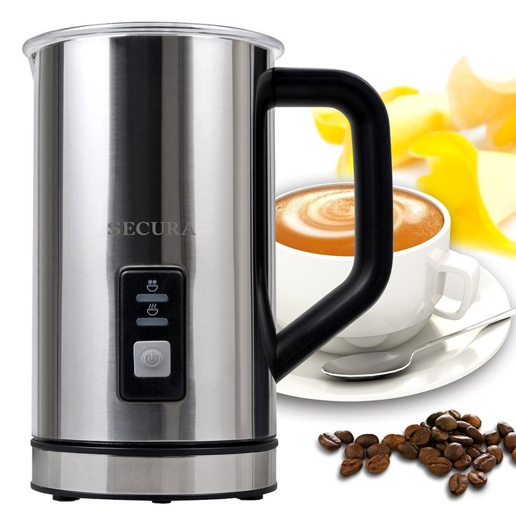 Secura Automatic Electric Milk Frother and Warmer Amazon