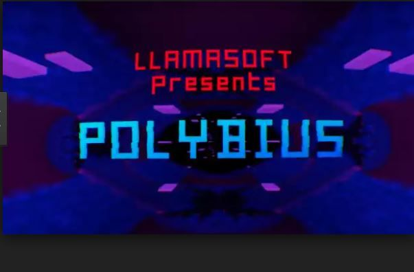 PC Version Of Jeff Minter's Polybius Will Be Coming