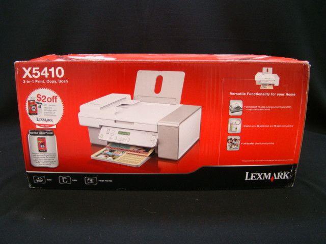 Lexmark X5410 3-in-1 Inkjet Printer