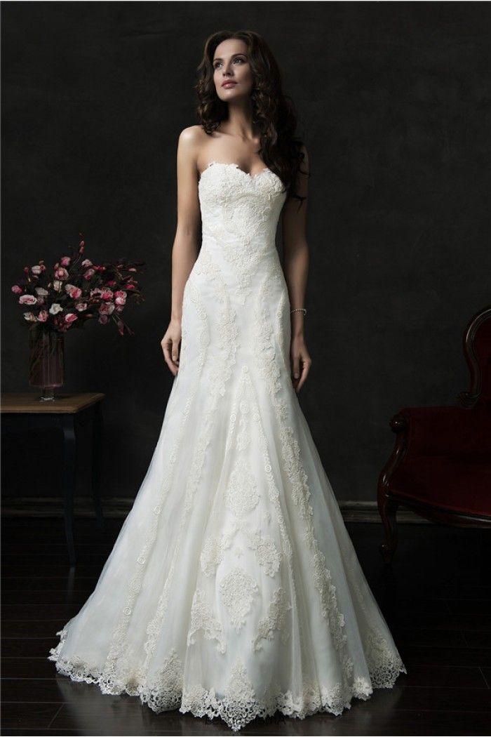 17 best ideas about Vintage Lace Wedding Dresses on Pinterest ...