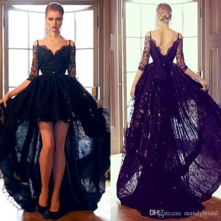 Custom Made V Neck Lace Top Plain Satin Elegant Long: 649 Best Evening Dress Images On Pinterest