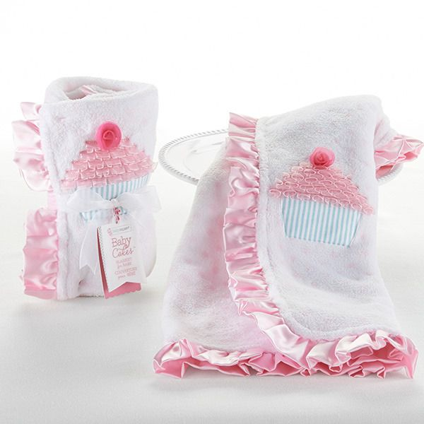 """""""Baby Cakes"""" Baby Blanket Gift"""