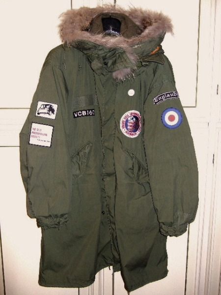 """Some of our classic patches seen while checking out """"My M65 parka"""". Neat!"""