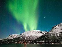Lofoten, auroras boreales y trineo de perros. 7 días