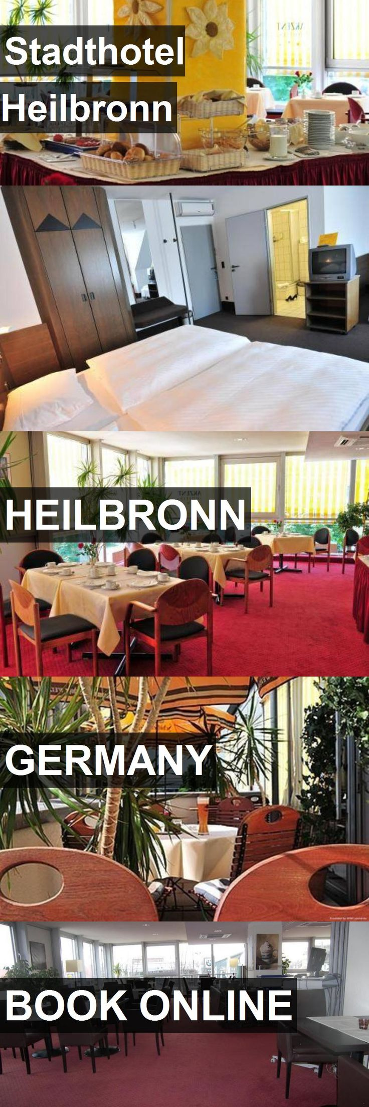 Stadthotel Heilbronn in Heilbronn, Germany. For more information, photos, reviews and best prices please follow the link. #Germany #Heilbronn #travel #vacation #hotel