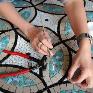 Elizabeth de Ath- Mosaic Artist and her process.