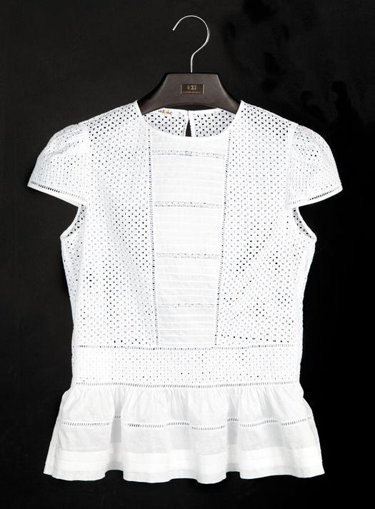 La Camisa Blanca Segun Carolina Herrera - Belleza Y Moda - Estampas                                                                                                                                                                                 Más