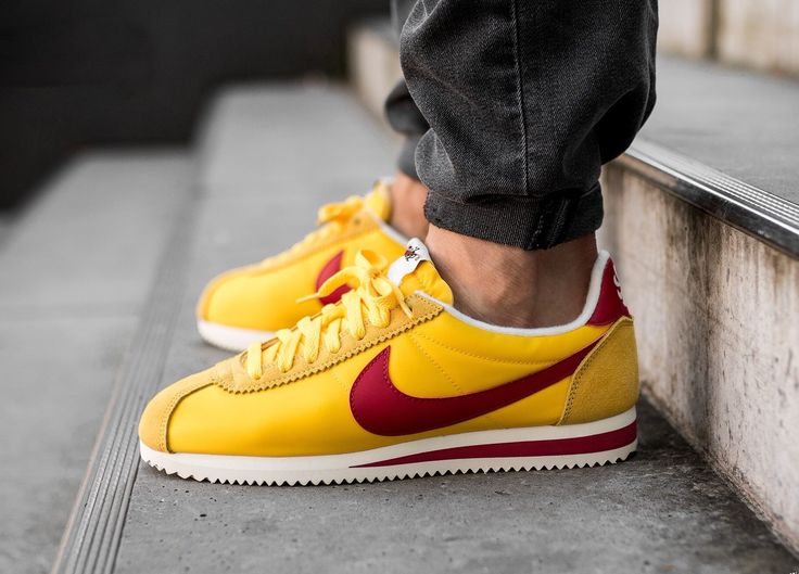 premium selection fa28f 4ca43 ... germany nike sportswear classic cortez nylon varsity maize clothing  pinterest nike products and classic cortez 73a23