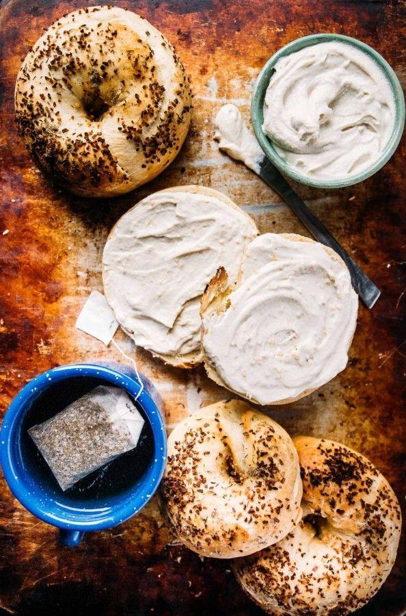 Vegan Herb and Onion Bagels- Make brunch even bett…