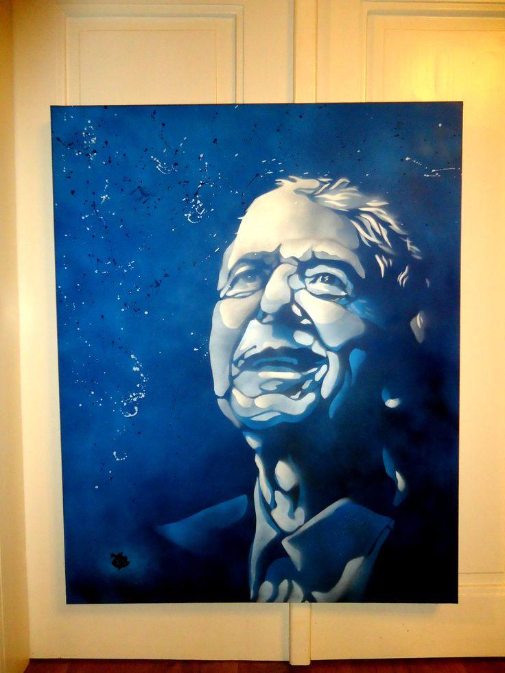 Leonard Cohen │ spray paint https://www.youtube.com/watch?v=YrLk4vdY28Q
