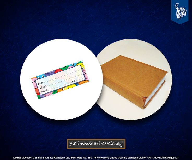 Putting name stickers on books, to avoid misplacing was a Zimmedar move. #ZimmedariKeKissey