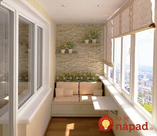 Títo ľudia si balkóny upravili tak, aby si ich mohli užívať po celý rok: Keď uvidíte tie úžasné nápady, možno si ten svoj upravíte tiež!