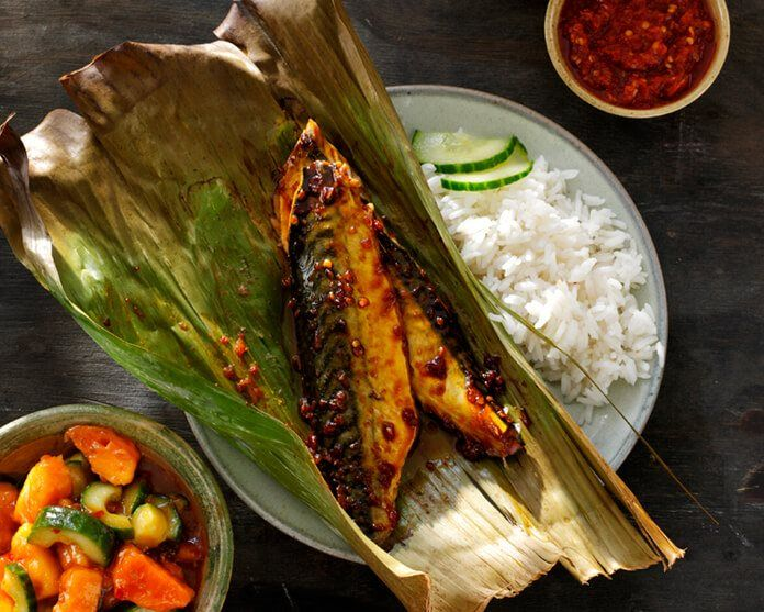 Ikan Bakar Pedis - Pittige Gegrilde Vis recept - Conimex