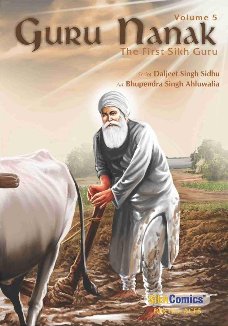 SikhComics.com - Guru Nanak - The First Sikh Guru, Volume 5 (English Graphic Novel), USD $3.99 (http://www.sikhcomics.com/guru-nanak-dev-ji-first-sikh-guru-volume-5/)