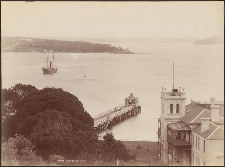 Watson Bay in 1880.