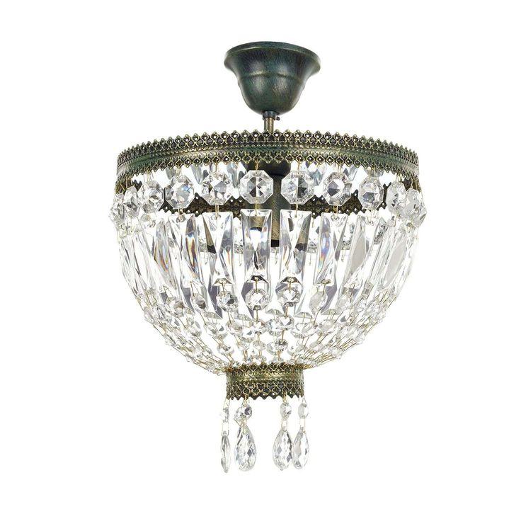 Kristal Plafondlamp Cupola 30 Cm In 2020 Kristall Deckenleuchte