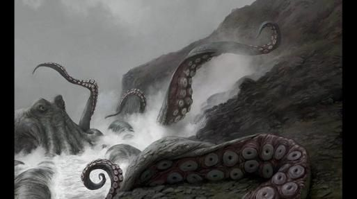 Kraken es una criatura marina de la cultura escandinava y según los que lo vieron, sería como un pulpo o calamar gigante. (Foto: Referencial)