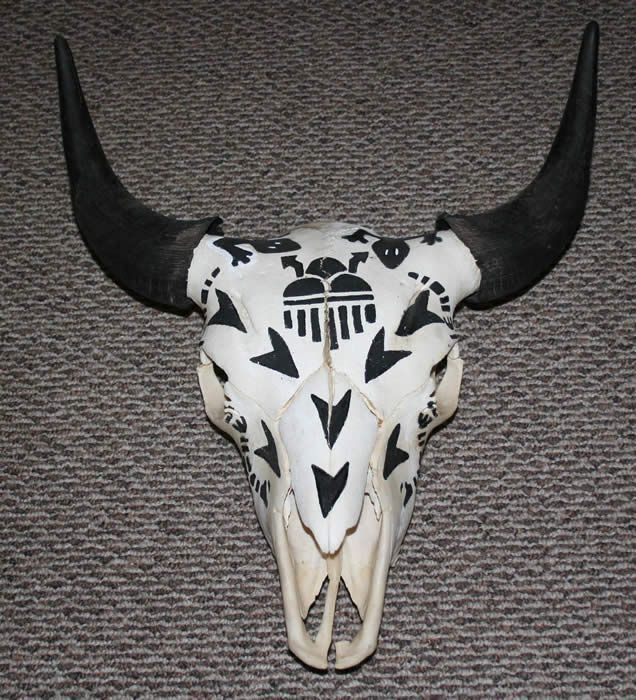 Decorated Animal Skulls