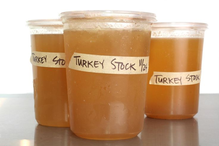 An easy turkey stock recipe made from the Thanksgiving carcass.
