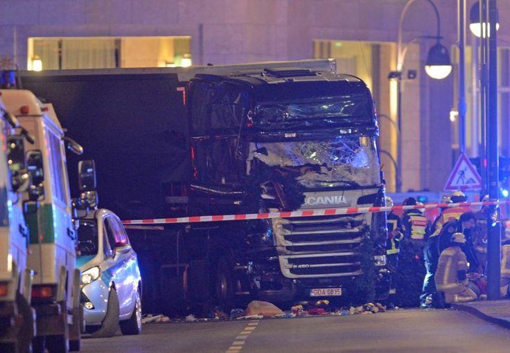 Anschlag von Berlin: Bordcomputer stoppte Lkw - SPIEGEL ONLINE - Politik