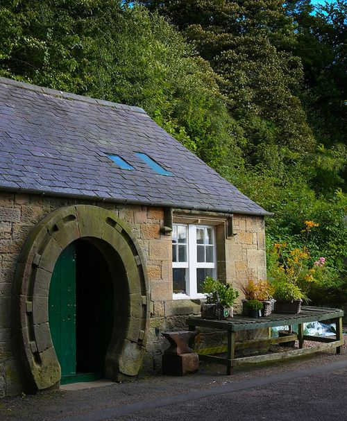 The Old Forge, Ford Village, Northumberland, England