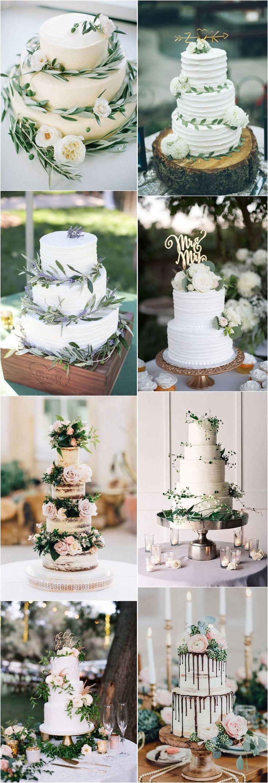 Hochzeitstorten im Grünen #Hochzeiten #Grünhochzeiten #Hochzeitsideen #Rustikalhochzeit   – Wedding Cakes