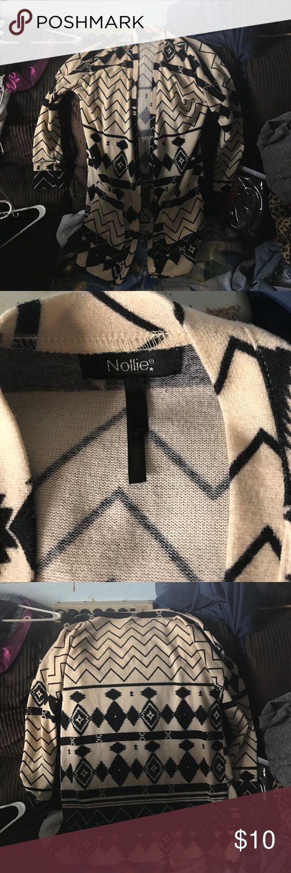 Tribal cardigan Cute warm long tribal cardigan Nollie Sweaters Cardigans