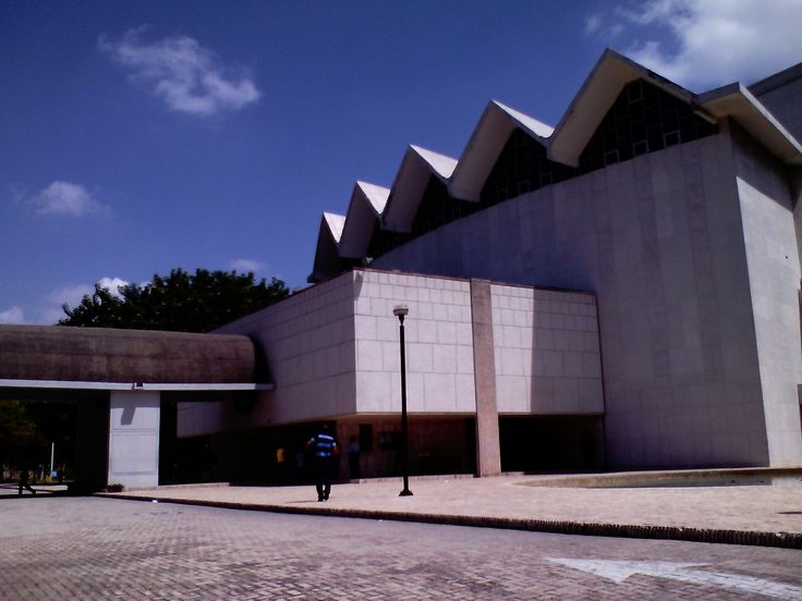 This is the Amira de la Rosa Theater.
