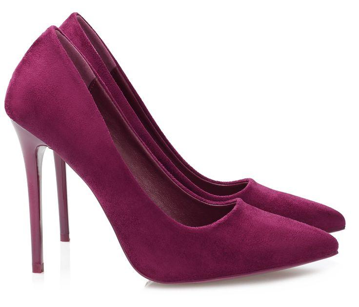 Szpilki Lara Purple