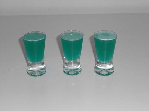 Shot Lake Water - Drinkologia - przepisy na drinki, koktajle, nalewki, shoty