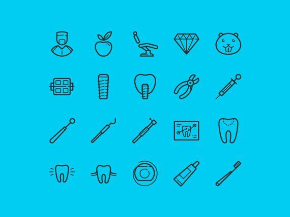 Free Dental Icons