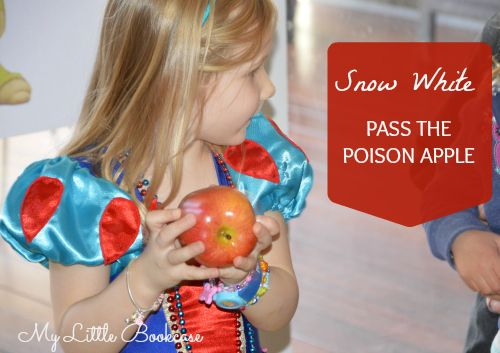 Snow White Party Games, super cute ones! Why am i Just now finding this a few days before the party? ARGH