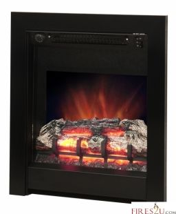 """Be Modern has introduced the stunning Athena LED electric fire into their electric fire collection. The Athena electric fire comes in two size options 16"""" or 18"""" width.  The Be Modern Athena electric fire is available with a either a contemporary black trim or chrome trim. The main features of this Be Modern inset electric fire -  Thermostat control for energy efficiency  Easy to reach switched located at the top of the fire  1kW and 2kW heat settings and flame effect only settings…"""