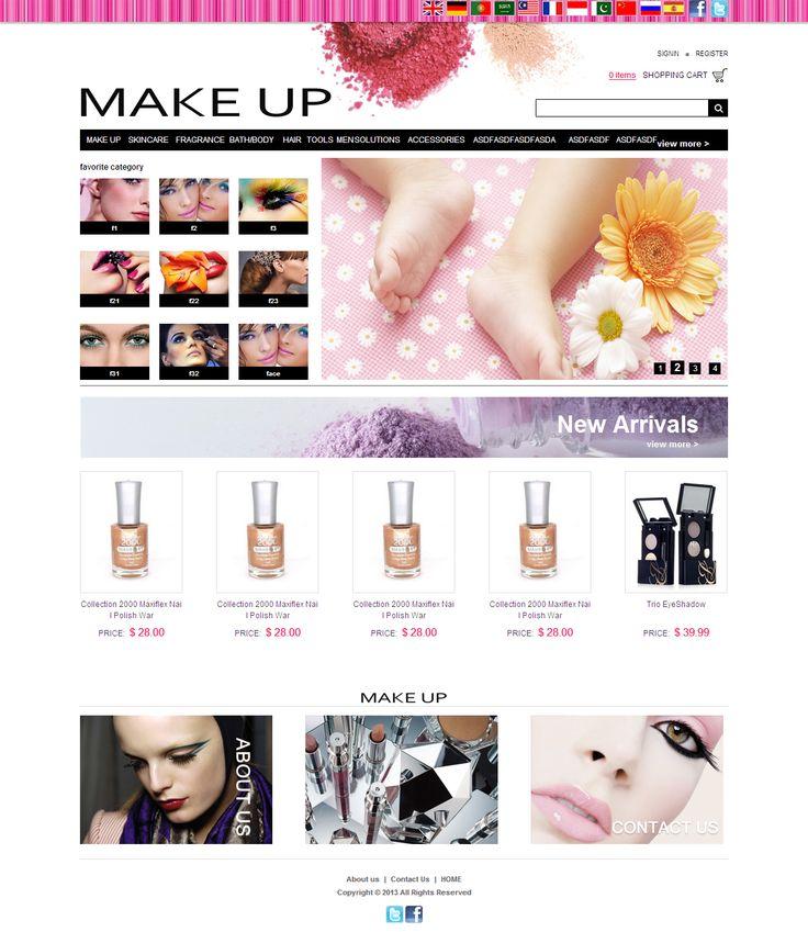 Online E-commerce Website for Cosmetics