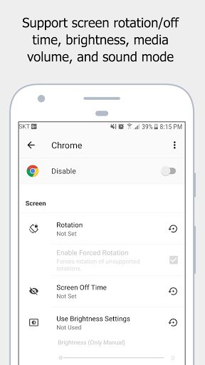 AUTOSET (Android Automation Device Settings) v1.5.3 build 15301   AUTOSET (Android Automation Device Settings) v1.5.3 build 15301Requirements:5.0Overview:An app that automatically sets the user to the environment you set through the app launch and shutdown events.  You can also change the settings of the phone depending on the time with the scheduling function.   main function - Time setting function with scheduling notification setting - Ability to change the settings to the environment…