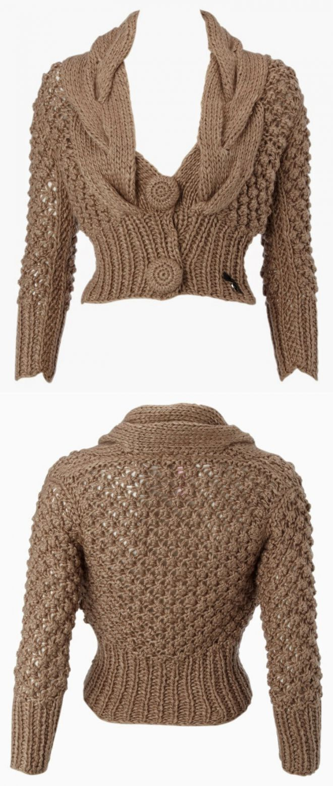Chaqueta de Lipsy. | вязание спицами | Постила