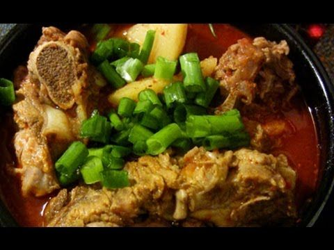 How to make SPICY PORK BONE SOUP 감자탕  Shop Korean Ingredients at www.crazykoreanshopping.com  #koreaningredient #koreancooking #koreanfood