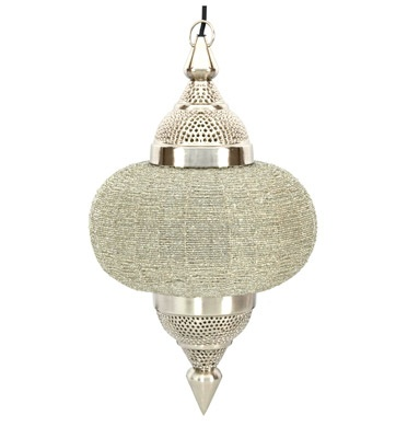 Pendant Lantern with Clear Accents teamed with all white bathroom