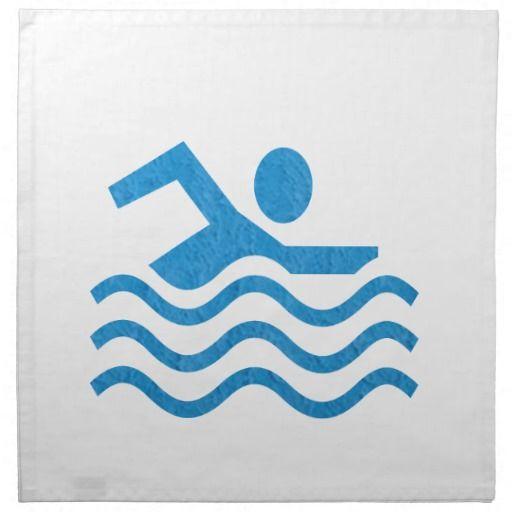 NVN24 navinJOSHI Swimming Sucess Swim Swimmer 101 Cloth Napkins