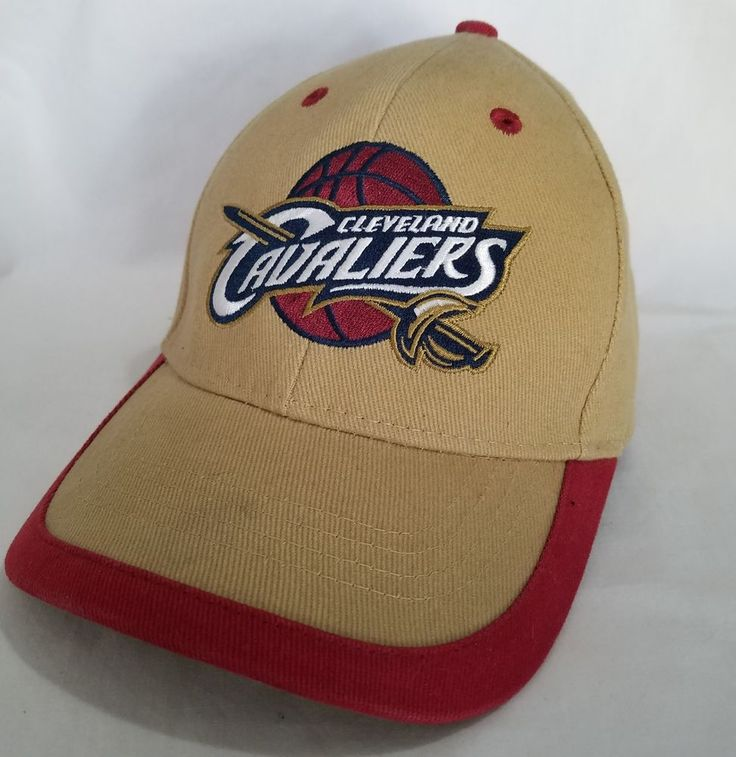 Cleveland Cavaliers Cavs Hat Ball Cap Adjustable NBA Basketball Wine and Gold #NBAElevation #ClevelandCavaliers