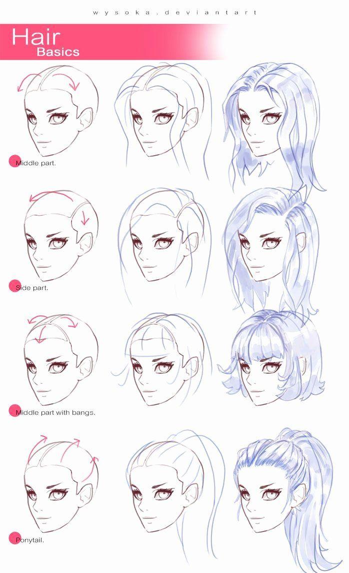 Anime Coloring Tutorial Deviantart Best Of Sai Hair Shading Tutorial Foto Amp Video Elegant Hair Tutorial Drawing At Ge In 2020 Drawings How To Draw Hair Art Tutorials