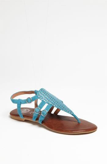 Sandalias azules de #JeffreyCampbell #showroom #palermostudio