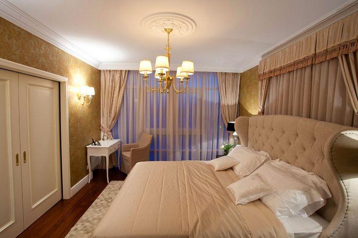 In 100sqm russian apartment interior design royal luxury bedrooms