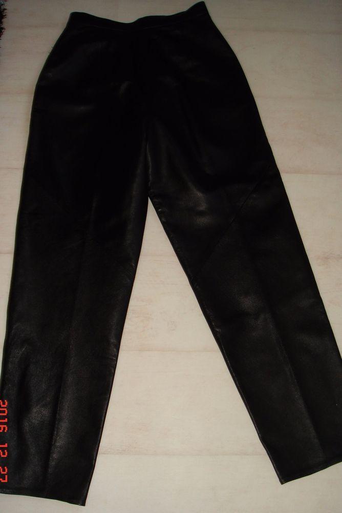 St Michael Marks & Spencer Vintage Soft Leather Trousers Size 12 £14.99 or Best Offer Ebay Uk Item No 361871706115
