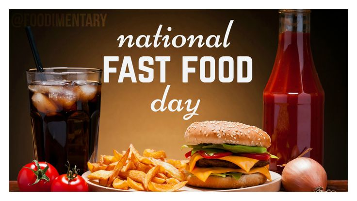 November 16th is National Fast Food Day!