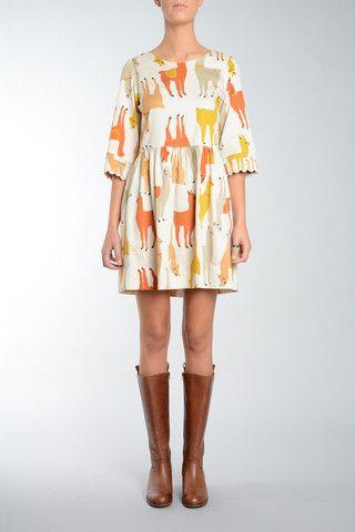 Llama Dress---I need this dress!!! <3