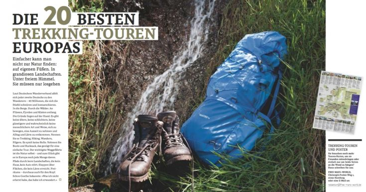 Die 20 besten Trekkingtouren Europas - FREE MEN'S WORLD